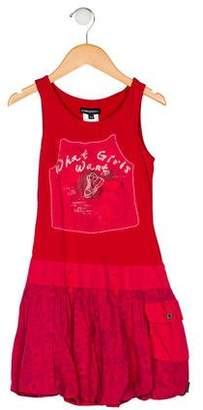 Jean Bourget Girls' Sleeveless A-Line Dress