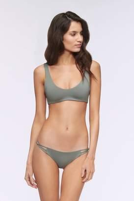 Rebecca Minkoff Nicki Reversible Bralette Swim Top