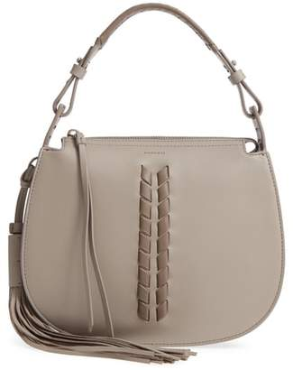 AllSaints Kepi Leather Crossbody Bag