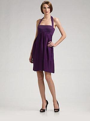 Versace Halter Babydoll Dress