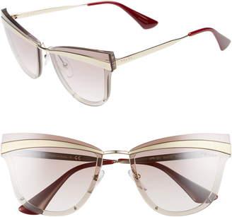 85aaf36f8e1d7 Prada Cinema Evolution 65mm Cat Eye Sunglasses