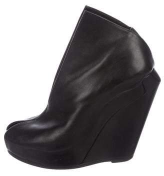 Cinzia Araia Platform Wedge Boots