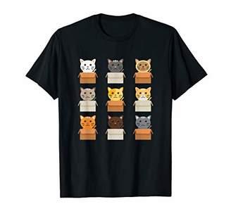 b5a25662 Boxes Cute Cat Shirt Gift Women Men Kids Kittie Love Box Tee