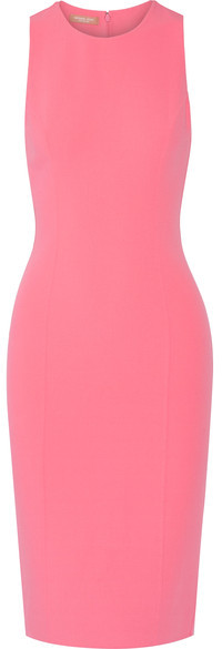 MICHAEL Michael Kors Michael Kors Collection - Stretch-wool Dress - Pink