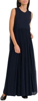 Jil Sander High Waist Long Dress