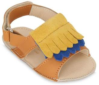 Suede & Nappa Leather Sandals