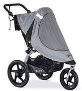 BOB Strollers Revolution Single Jogging Stroller Sun Shield