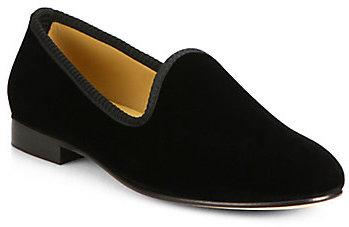 Del Toro Velvet Slipper Shoe