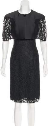 Philosophy di Alberta Ferretti Lace Knee-Length Dress Set w/ Tags