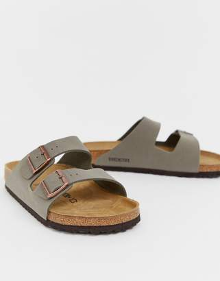26dbf73b1f2d4 Birkenstock Arizona birko-flor sandals in stone