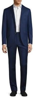 Corneliani Regular-Fit Striped Wool Suit