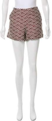 Apiece Apart Patterned High-Rise Shorts