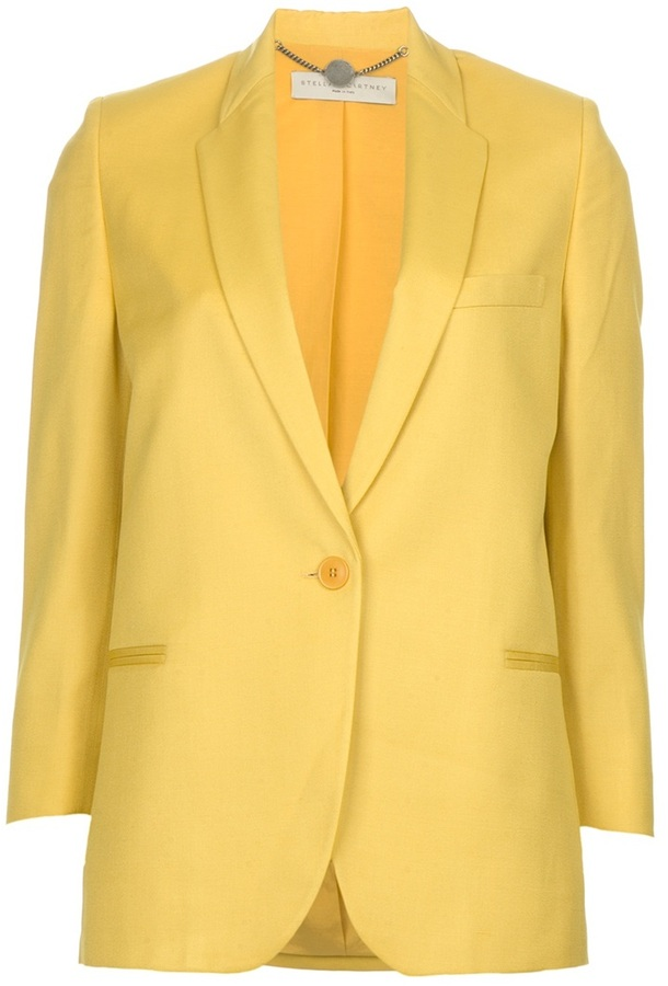Stella McCartney single button jacket