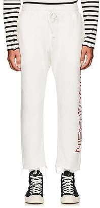 R 13 Men's Logo Cotton-Blend Crop Sweatpants