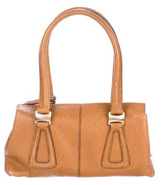 Tod's Textured Leather Handle Bag