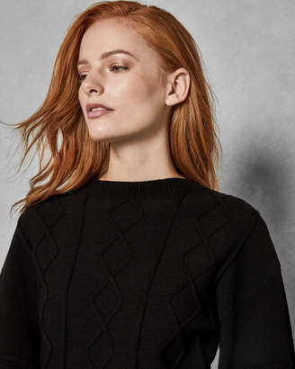 Ted Baker SULSAI Knitted full sleeve sweater