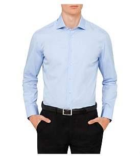 Hackett London Cotton Poplin Plain Chelsea Shirt