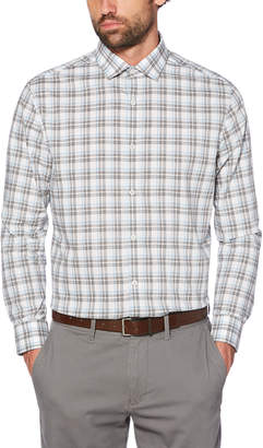 Original Penguin MEDIUM GREY PLAID DRESS SHIRT