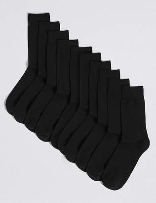Marks and Spencer 10 Pack Cotton Rich Socks