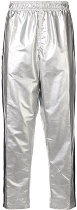 Ralph Lauren P-Wing logo stripe track pants