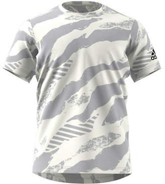 adidas Free Lift Engineered Jacquard T-Shirt