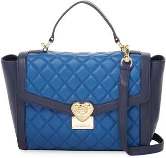 Love Moschino Women's Nappa Quilted Leather Tote Bag