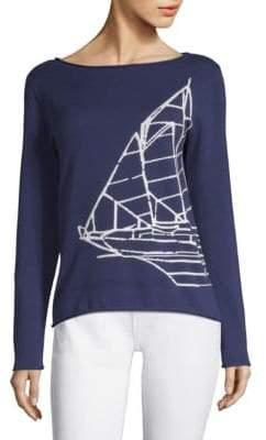Vineyard Vines Nautical Intarsia Cotton Sweater