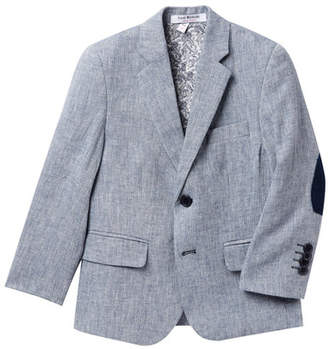 Isaac Mizrahi Textured Blazer with Elbow Patches (Toddler, Little Kid, & Big Kid)