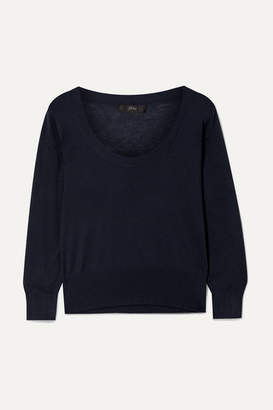 J.Crew Tencel-blend Sweater - Navy