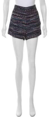 Diane von Furstenberg High-Rise Mini Shorts