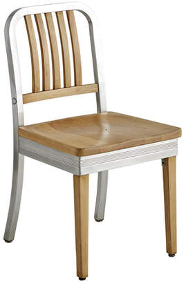 Rejuvenation Shaw Walker Maple & Aluminum Side Chair