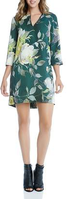 Karen Kane Floral Print Shift Dress $158 thestylecure.com