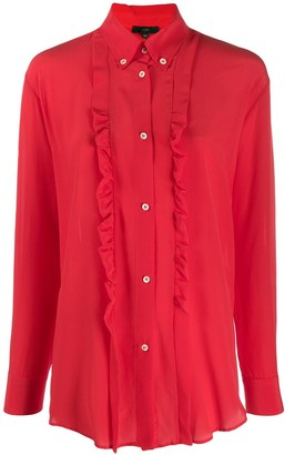 Jejia ruffle long-sleeve blouse