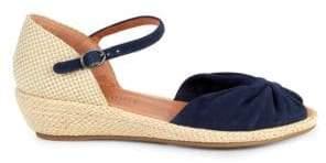 Gentle Souls Lucille Espadrille Wedge Sandals