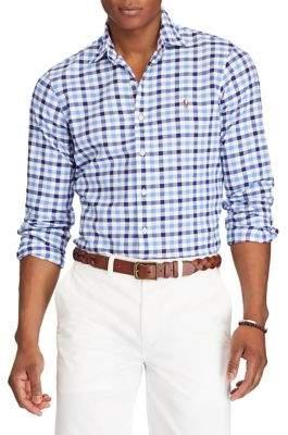 Polo Ralph Lauren Gingham Classic-Fit Cotton Button-Down Shirt