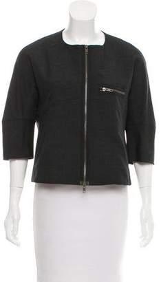 Marni Wool Zip-Up Jacket