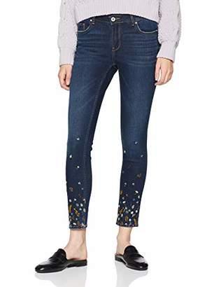 ... Only Women s Onlcarmen Reg Sk ANK Jeans Crya018 Skinny Dark Blue Denim,  W L32 2626ae0163