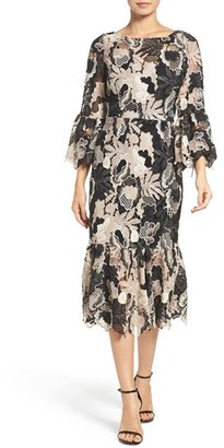 Tracy Reese Lace Midi Dress $698 thestylecure.com