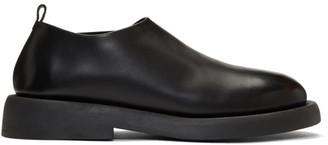 Marsèll Black Leather Loafers