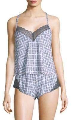 Geometric-Print Camisole