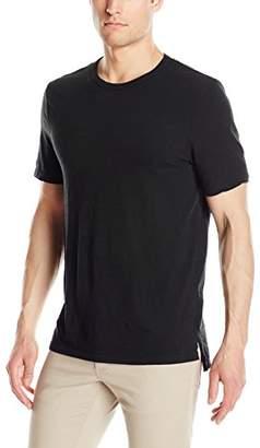 Michael Stars Men's Short Sleeve Crew Neck Linen Jersey T-Shirt