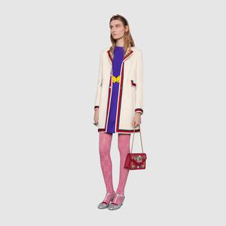 Gucci Wool coat with Sylvie Web