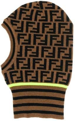 Fendi FF intarsia knitted balaclava