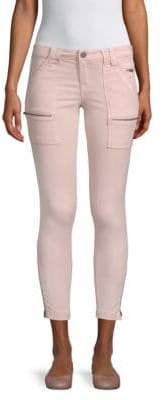 Park Stretch Twill Skinny Jeans