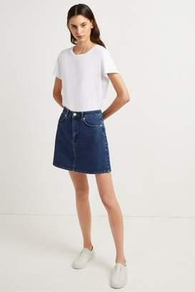 French Connenction Mena Denim Mini Skirt