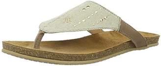 Womens Glückspilz Tropfen Sommersandale Sandals, Brown (Taupe) Adelheid
