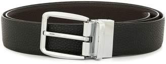 Cerruti silver buckle belt