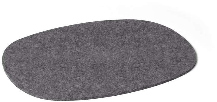 Hey Sign - Tischset oval, 5 mm, Anthrazit
