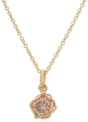 Dean Harris Men's Cognac Diamond On Chain Necklace
