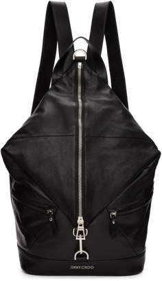 Jimmy Choo Black Fitzroy Backpack